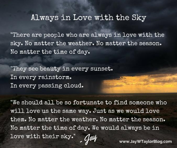 No Matter the Weather - JWTBlog FB Post